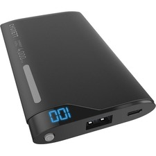 Cygnett ChargeUp Digital 4,000mAh Portable Power Bank - Black
