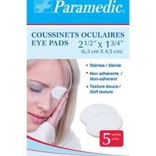 """Paramedic Eye Pads (5) - 2.50"""" (63.50 mm) x 1.75"""" (44.45 mm) - 5/Pack"""