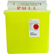 Paramedic Waste Container - 5.10 L Capacity - 1 Each