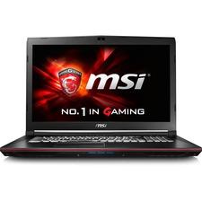 """MSI GP72VR Leopard Pro-284 17.3"""" LCD Notebook - Intel Core i7 (7th Gen) 2.80 GHz - 16 GB DDR4 SDRAM - 1 TB HDD - 512 GB SSD - Windows 10 (Multi Language) - 1920 x 1080 - Black"""