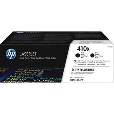HP 410X (CF410XD) Toner Cartridge - Black - Laser - High Yield - 6500 Pages (Per Cartridge)