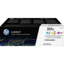 HP 201X (CF253XM) Toner Cartridge - Cyan, Magenta, Yellow - Laser - High Yield - 2300 Pages (Per Cartridge)