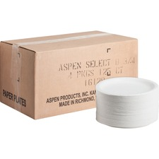 AJMCP9AJCWWH1CT - AJM Packaging Coated Paper Plates