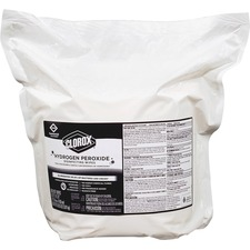 CLO 30831 Clorox Hydrogen Peroxide Disinfecting Wipes Refill CLO30831