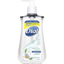 DIA 02660 Dial Corp. Dial White Tea Antibacterial Hand Soap DIA02660