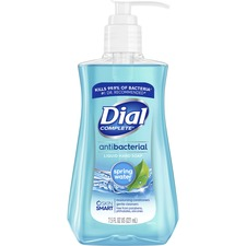 DIA 02670 Dial Corp. Dial Spring Water Antibactl Hand Soap DIA02670