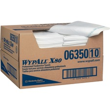 KCC 06350 Kimberly-Clark WypAll X80 Foodservice Towels KCC06350