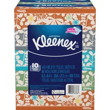 KCC 37378 Kimberly-Clark Kleenex Tissues Flat Box Bundle KCC37378