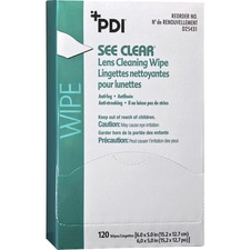 NIC PEGC077831 Nice Pak See Clear Lens Cleaning Wipes NICPEGC077831