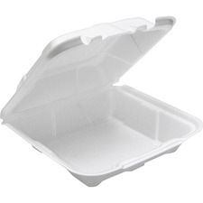 PCT YTD18801 Pactiv Corp. 2-tab HL Conventional Foam Container PCTYTD18801