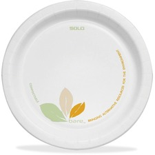 "Solo Cup 8-1/2"" Paper Dinnerware Plates"