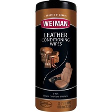 WMN 91 Weiman Products Leather Wipes WMN91