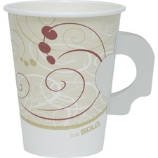 SCC 378HSMJ8000 Solo Cup Poly Lined Hot Paper Cups SCC378HSMJ8000
