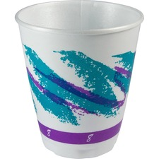 SCC X800055 Solo Cup Cozy Touch Hot/Cold Insulated Cups SCCX800055