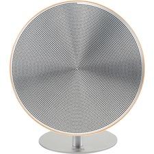 TIC Anaklia BB1 2.0 Speaker System - 10 W RMS - Wireless Speaker(s) - Portable - Battery Rechargeable - Wood Grain, Aluminum