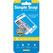 ReVamp Simple Snap Screen Protector White, Transparent
