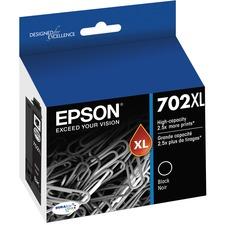 Epson DURABrite Ultra T702XL Original Ink Cartridge - Black - Inkjet - High Yield