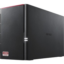 Buffalo LinkStation 520 4 TB 2-Drive NAS for Home/Home Office (LS520DN0402) - Realtek Dual-core (2 Core) - 2 x HDD Installed - 4 TB Installed HDD Capacity - 256 MB RAM DDR3 SDRAM - Serial ATA/300 Controller - RAID Supported 0, 1, JBOD - 2 x Total Bays - G