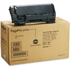 Konica Minolta Black Toner Cartridge for PagePro 9100 Series