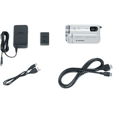 "Canon VIXIA HF R800 Digital Camcorder - 3"" - Touchscreen LCD - CMOS - Full HD - White"