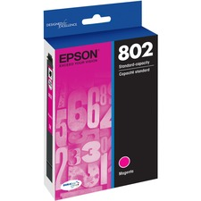 Epson DURABrite Ultra 802 Original Ink Cartridge - Magenta - Inkjet