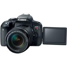 Canon EOS Rebel T7i 24.2 Megapixel Digital SLR Camera with Lens - 18 mm - 135 mm