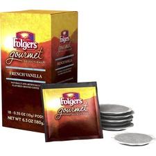 FOL 63102BX Folgers Gourmet Selections French Vanilla Coffee FOL63102BX