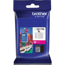Brother Innobella LC3017MS Original Ink Cartridge - Magenta - Inkjet - High Yield - 550 Pages - 1 / Pack