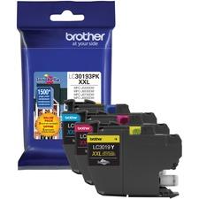 Brother Innobella LC30193PKS Original Ink Cartridge - Yellow, Cyan, Magenta - Inkjet - Super High Yield - 1500 Pages Yellow, 1500 Pages Cyan, 1500 Pages Magenta - 3 / Pack