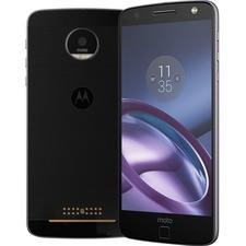 "Motorola Moto Z 64 GB Smartphone - 4G - 5.5"" AMOLED 2560 x 1440 QHD Touchscreen - Qualcomm Snapdragon 820 Quad-core (4 Core) 1.80 GHz - 4 GB RAM - 13 Megapixel Rear/5 Megapixel Front - Android 6.0.1 Marshmallow - SIM-free - Black"