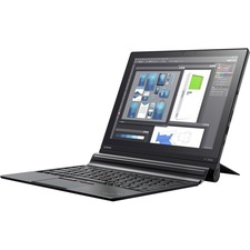 "Lenovo ThinkPad X1 Tablet 20JB002FUS 12"" Touchscreen LCD 2 in 1 Notebook - Intel Core i5 (7th Gen) i5-7Y57 Dual-core (2 Core) 1.20 GHz - 8 GB LPDDR3 - 256 GB SSD - Windows 10 Pro 64-bit (English) - 2160 x 1440 - In-plane Switching (IPS) Technology - Midnight Black"