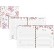 AAG1041905 - At-A-Glance Blush Weekly/Monthly Planner
