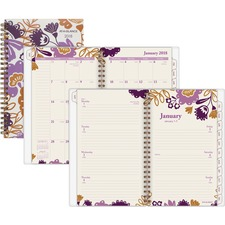 AAG1042200 - At-A-Glance Ingrid Weekly/Monthly Planner