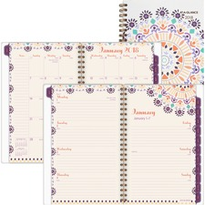 AAG1051200 - At-A-Glance Sun Dance Weekly/Monthly Planner
