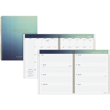AAG105490520 - At-A-Glance Aurora Weekly/Monthly Planner