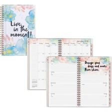 AAG187201 - At-A-Glance B-Positive Small Weekly/Monthly Planner