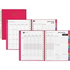 AAG609990527 - At-A-Glance Harmony Weekly/Monthly Hardcover Planner