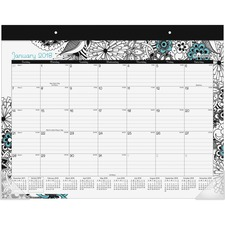 AAGD1090704 - At-A-Glance Medley Monthly Desk Pad