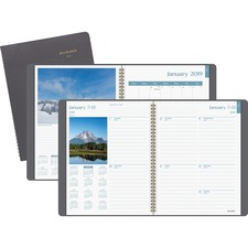 AAGG70030 - At-A-Glance DayMinder Scenic Weekly/Monthly Planner