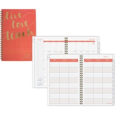 AAGTP200A27 - At-A-Glance Weekly Monthly Teacher Planner
