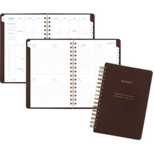 AAGYP20009 - At-A-Glance Signature Collection Weekly/Monthly Planner, Brown