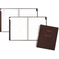 AAGYP90509 - At-A-Glance Signature Collection Weekly/Monthly Planner, Gray