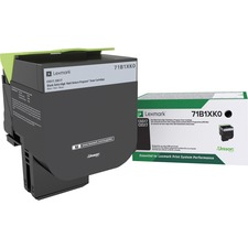 LEX71B1XK0 - Lexmark Toner Cartridge - Black