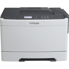 LEX28DC050 - Lexmark CS417dn Laser Printer - Color - 2400 x 600 dpi Print - Plain Paper Print - Desktop