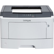 Lexmark MS317dn Laser Printer - Monochrome - 1200 x 1200 dpi Print - Plain Paper Print - Desktop - 35 ppm Mono Print - Folio, Statement, Oficio, Legal, Letter, Executive, B5 (JIS), DL Envelope, A6, Universal, A5, ... - 300 sheets Standard Input Capacity -