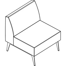 AROHC30K8W1 - Arold Straight Chair