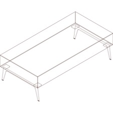 AROH60K8W1 - Arold Rectangular Bench