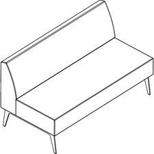 AROHC60K8W4 - Arold Straight Chair