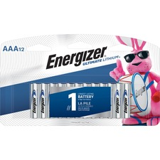 EVE L92SBP12 Energizer Ultimate Lithium AAA Batteries EVEL92SBP12
