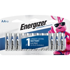 EVE L91SBP12 Energizer Ultimate Lithium AA Batteries EVEL91SBP12